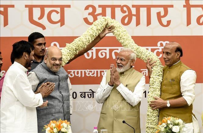 Мировые лидеры поздравили Моди с победой его партии на выборах в парламент Индии - ảnh 1