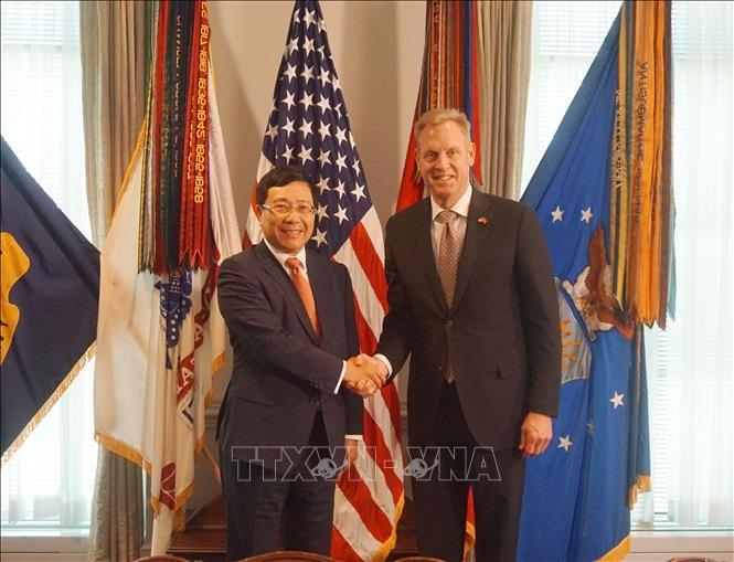 Вьетнам и США продолжают активизировать сотрудничество в сферах торговли, экономики, инвестиций и обороны  - ảnh 1