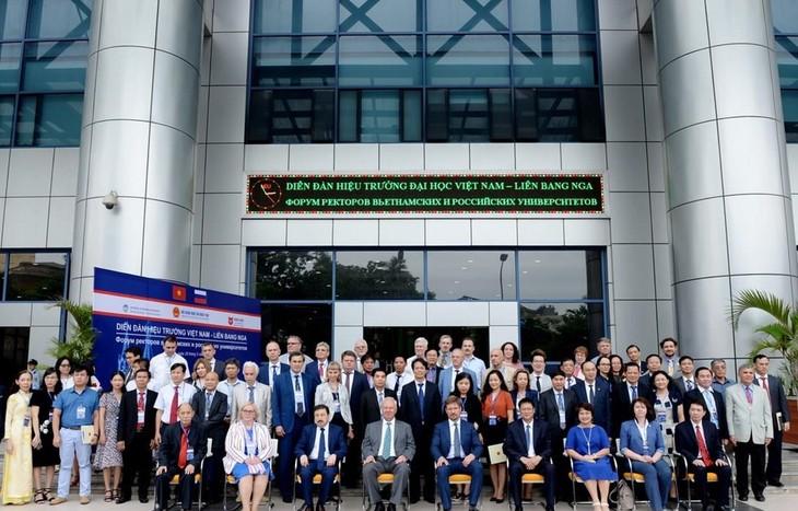 Более 70 вьетнамских и российских вузов приняли участие в форуме ректоров вьетнамских и российских университетов - ảnh 1