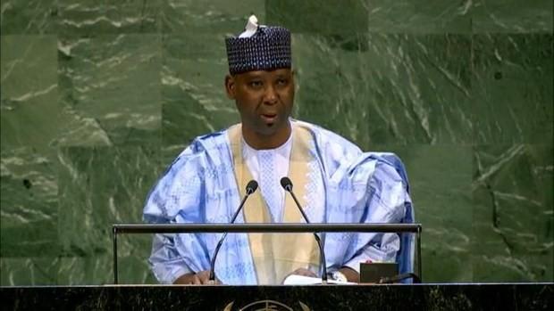 Постпреда Нигерии при ООН избрали председателем Генассамблеи ООН  - ảnh 1