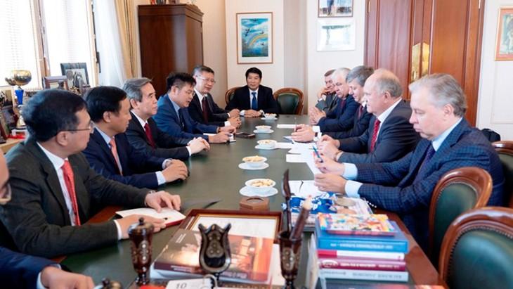 Активизация сотрудничества между Коммунистическими партиями РФ и Вьетнама - ảnh 1