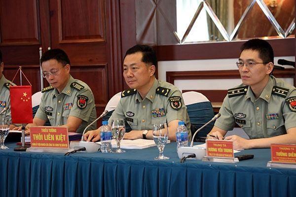 Армии Вьетнама и Китая усиливают сотрудничество в сфере научно-исследовательской деятельности - ảnh 1