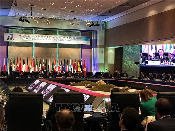 В Японии открылась встреча министров энергетики и экологии G20 - ảnh 1