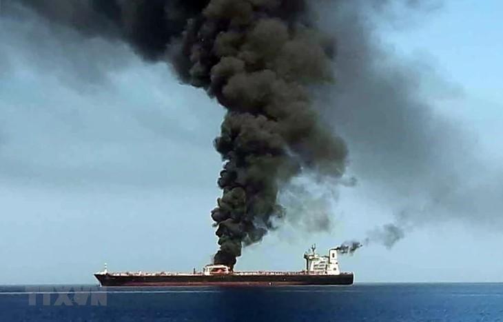 Генсек ООН призвал провести независимое расследование атаки на нефтяные танкеры в Оманском заливе - ảnh 1