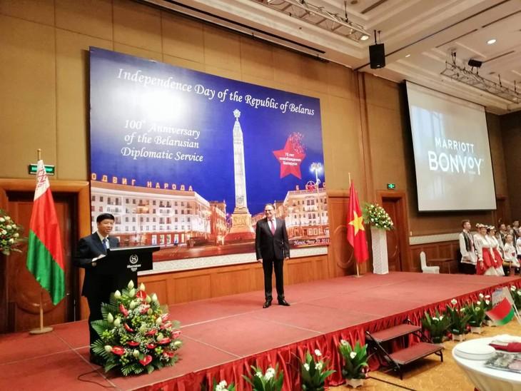 В Ханое прошел прием в честь национального праздника Республики Беларусь - ảnh 1