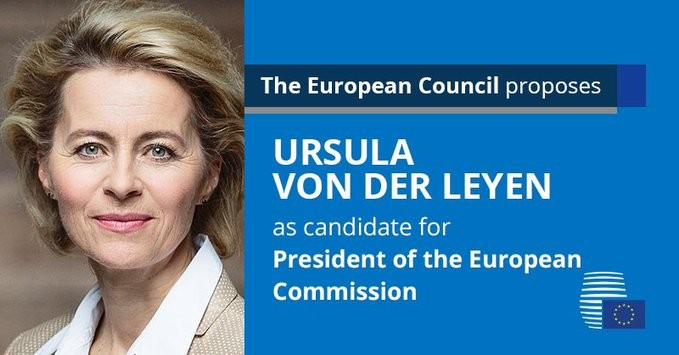 Министр обороны Германии выдвинута на должность главы Еврокомиссии - ảnh 1