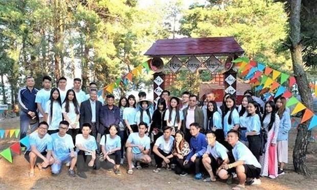 По всей Украине прошел летний лагерь для вьетнамской молодежи и студентов 2019 года - ảnh 1