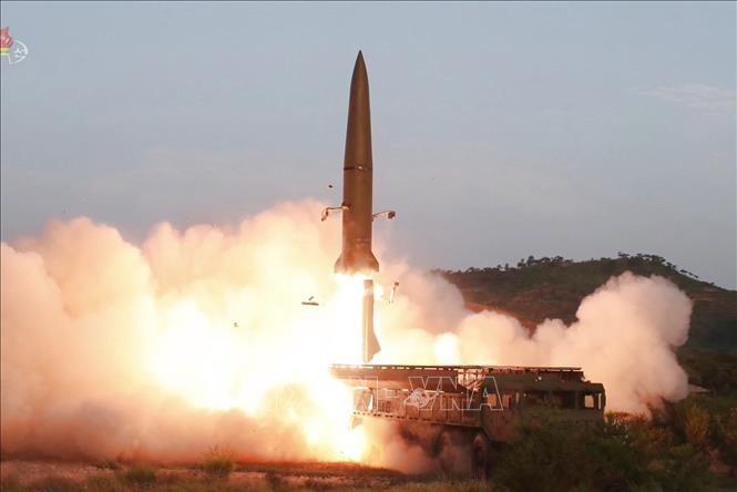 КНДР заявила про испытание новой системы многократного запуска ракет - ảnh 1