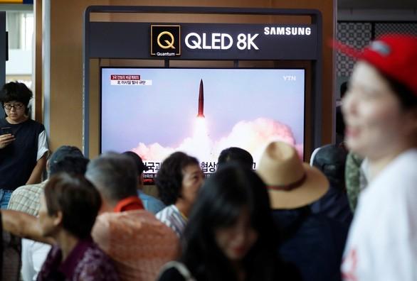 Республика Корея: КНДР запустила баллистическую ракету малой дальности - ảnh 1