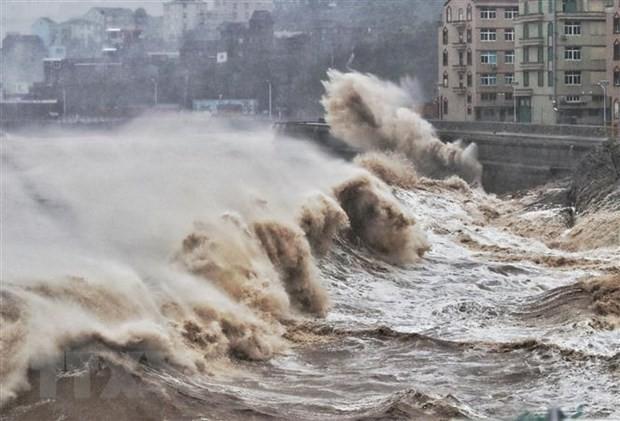 Тайфун «Лекима» вновь обрушился на Китай - ảnh 1