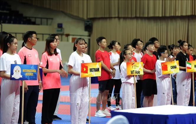 Открылся 2-й расширенный чемпионат Азии по Тхэквондо — 2019 года - ảnh 1