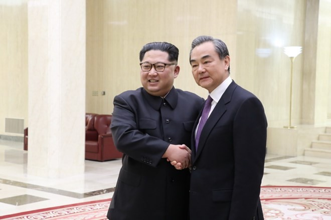 North Korean leader meets Chinese Foreign Minister - ảnh 1