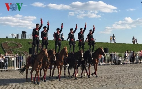 Russia celebrates Victory Day - ảnh 1