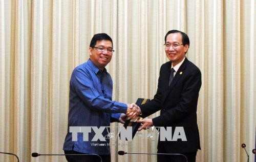 Ho Chi Minh city, Philippines seek more trade cooperation - ảnh 1