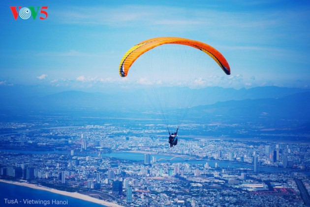 """Flying over Tien Sa 2018"": A chance to admire Da Nang - ảnh 10"