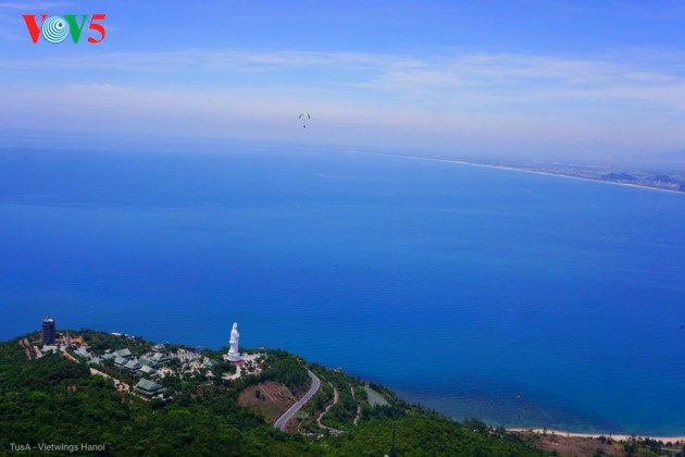 """Flying over Tien Sa 2018"": A chance to admire Da Nang - ảnh 12"