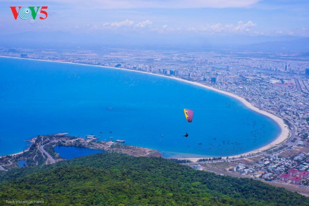 """Flying over Tien Sa 2018"": A chance to admire Da Nang - ảnh 1"