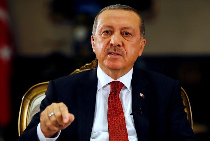 Erdogan sworn in as Turkish President  - ảnh 1