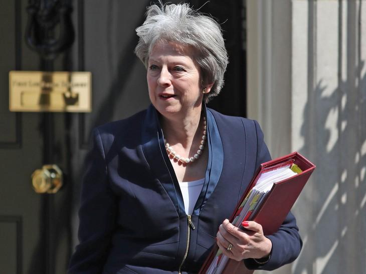 British PM pushes forward Brexit plan - ảnh 1