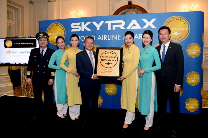 Vietnam Airlines rated as 4-star carrier for 3 consecutive years - ảnh 1
