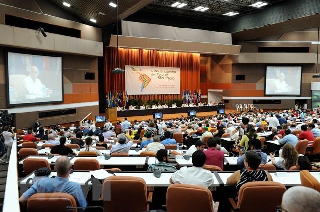 Sao Paulo Forum pays tribute to Fidel Castro, calls for unity - ảnh 1