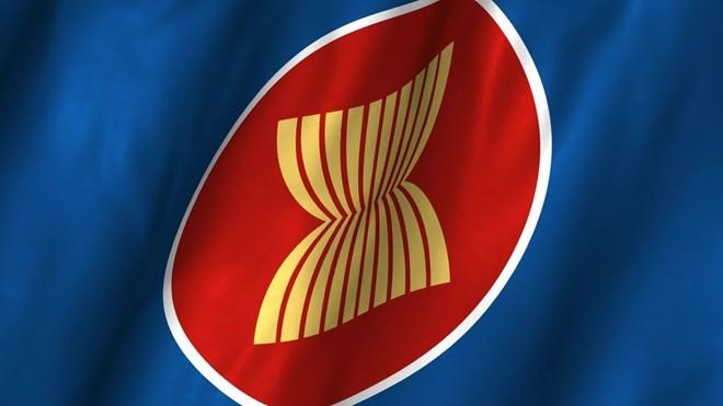 ASEAN flag raising ceremony held in Netherlands - ảnh 1