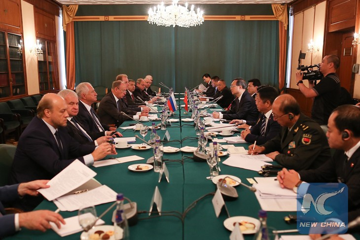 """China, Russia vow to safeguard a """"just and equitable"""" international order - ảnh 1"""