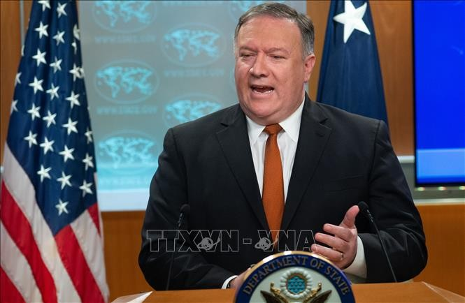 Pompeo: US is winning the trade war - ảnh 1