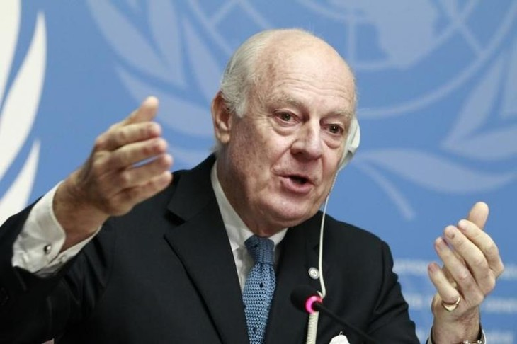 UN Special Envoy cautious about Syrian constitutional committee  - ảnh 1