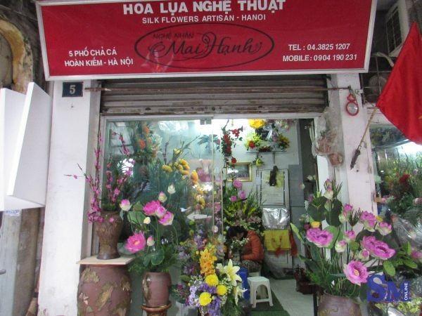 Artisan Mai Hanh – Hanoi's Queen of silk flowers  - ảnh 1