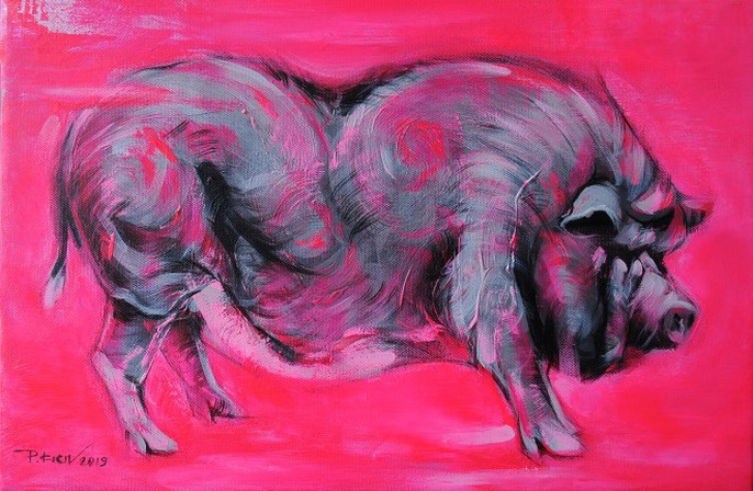 Zodiac animal paintings decorated for Tet holidays - ảnh 3