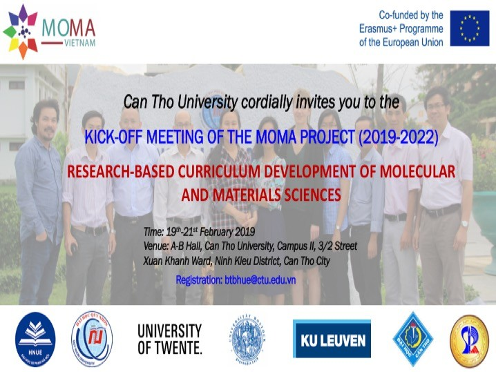 EU funds molecular, material sciences project for Vietnamese universities - ảnh 1