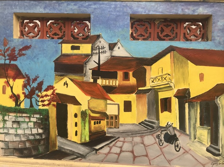 Youth murals promote cultural tradition of Hanoi's village - ảnh 3