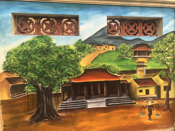 Youth murals promote cultural tradition of Hanoi's village - ảnh 5