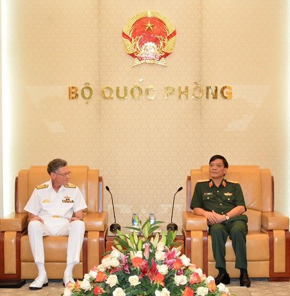 Vietnam, Australia strengthen defense ties - ảnh 1