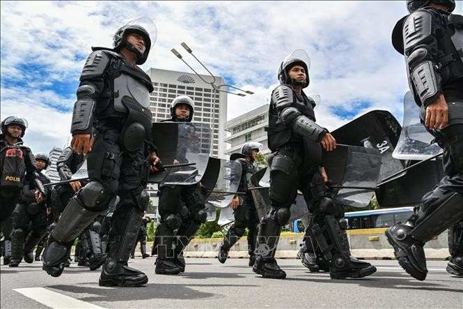 Indonesia to deploy 47,000 security personnel for election dispute - ảnh 1