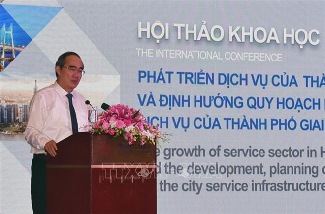 HCM City seminar discusses service infrastructure planning - ảnh 1