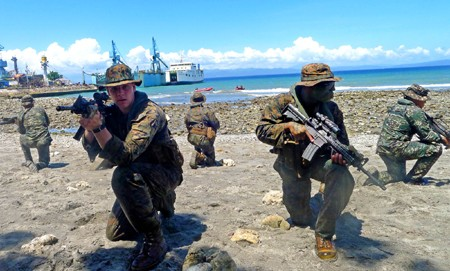 The US and the Philippines agree on the establishment of military base  - ảnh 1