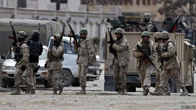 Taliban attacks a guest house in Kabul - ảnh 1