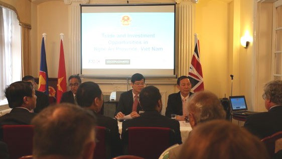 Nghe An introduces investment opportunities to UK businesses - ảnh 1