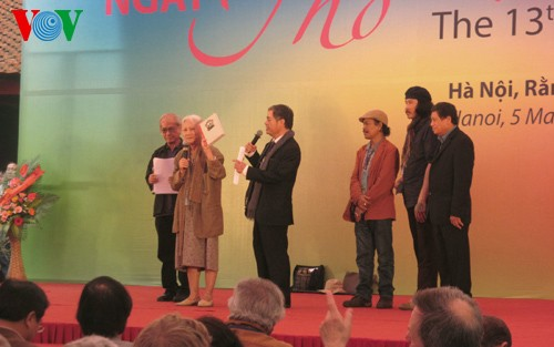 13th Vietnam Poetry Day opens  - ảnh 1