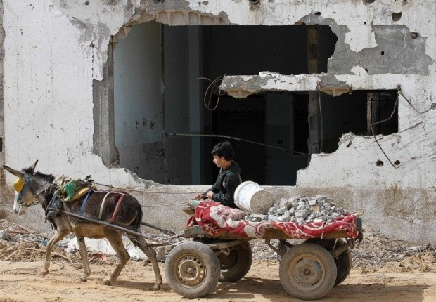 Qatar starts project to build 1,000 homes in the Gaza strip  - ảnh 1