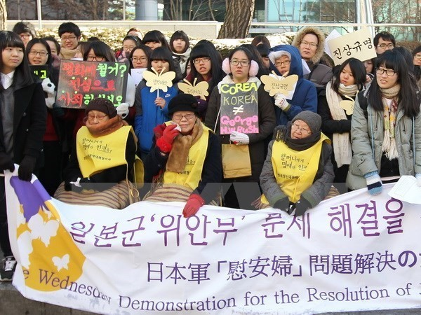 "Japan and Republic of Korea make no progress in talks on ""comfort women"" issue - ảnh 1"