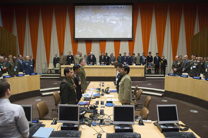 Vietnam's Defense delegation attends UN Chiefs of Defence Conference  - ảnh 1