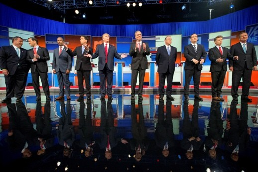 2016 US presidential election: Republican candidates hold second debate - ảnh 1