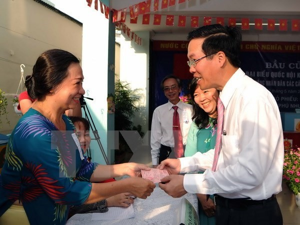 World media covers Vietnam's National Assembly election - ảnh 1
