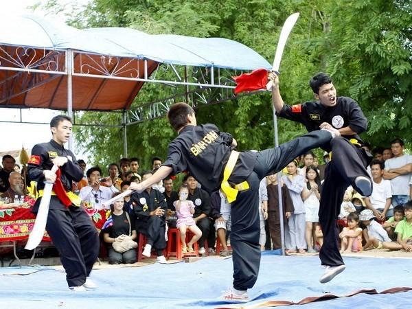Photo exhibition on traditional martial arts of Vietnam and the world - ảnh 1