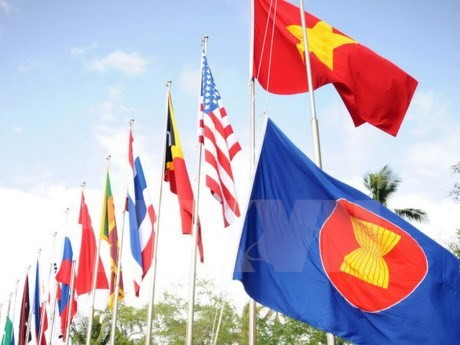 ASEAN flag hoisting ceremony held in Pakistan - ảnh 1