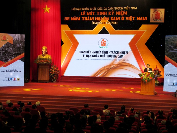 Meeting to mark 55th anniversary of Agent Orange/ Dioxin catastrophe in Vietnam - ảnh 1