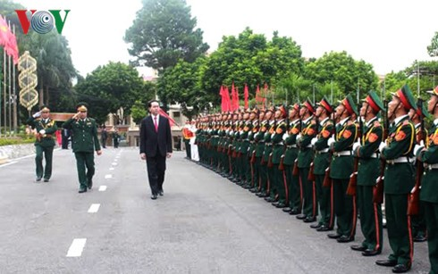 President attends ceremony marking 70th anniversary of Military Zone 2 armed forces - ảnh 1